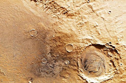 Eine Straßenkarte für den Mars