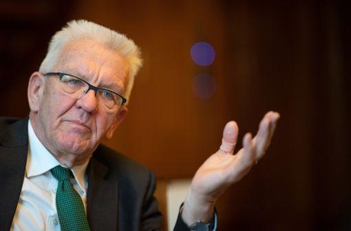 Lehrer im Land wettern gegen Kretschmann