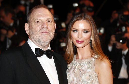 Harvey Weinsteins Ehefrau kündigt Trennung an