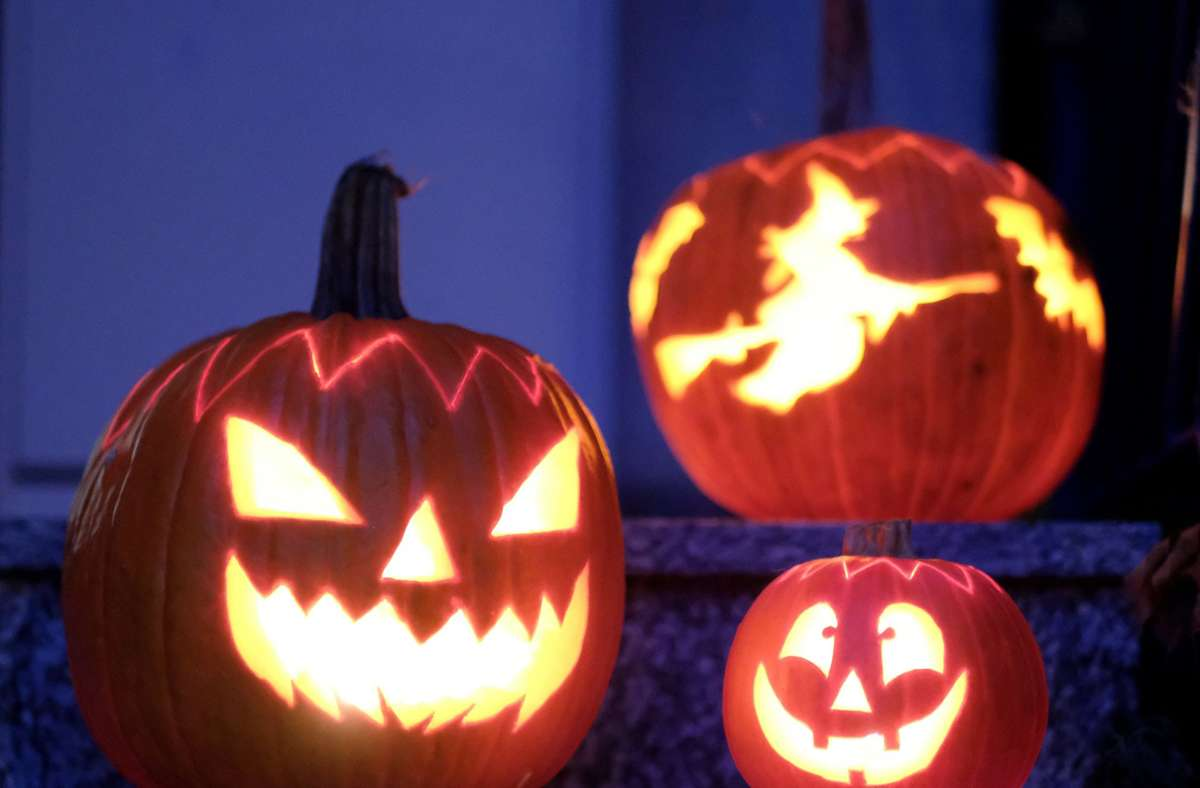 Halloween wird in diesem Jahr coronabedingt anders aussehen. Foto: dpa/Bernd Weissbrod