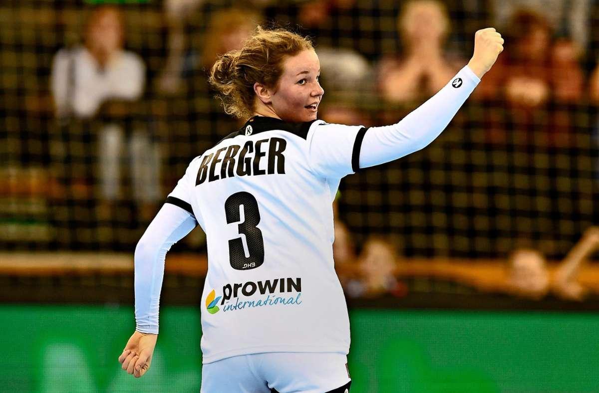 Amelie Berger Foto: dpa/Carmen Jaspersen