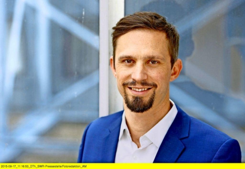 Florian Hager sieht die Herausforderungen, und hat  ehrgeizige Ziele. Foto: SWR