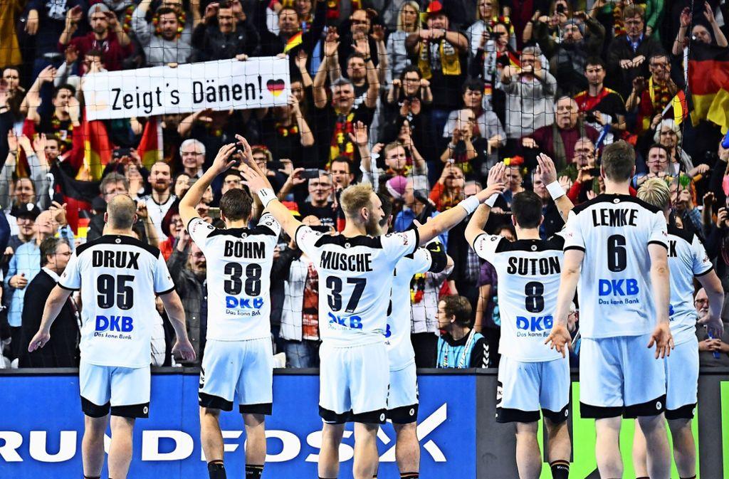 Auf deutschen Handballer sind auf Erfolgskurs. Foto: dpa