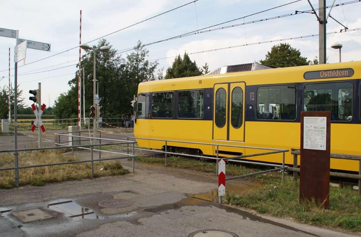 Der Unfall ereignete sich an der sogenannten Abendeckkreuzung in Ruit. Foto: SDMG/ / Boehmler