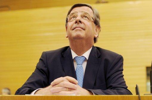 CDU will Stächele in Aufsichtsrat entsenden