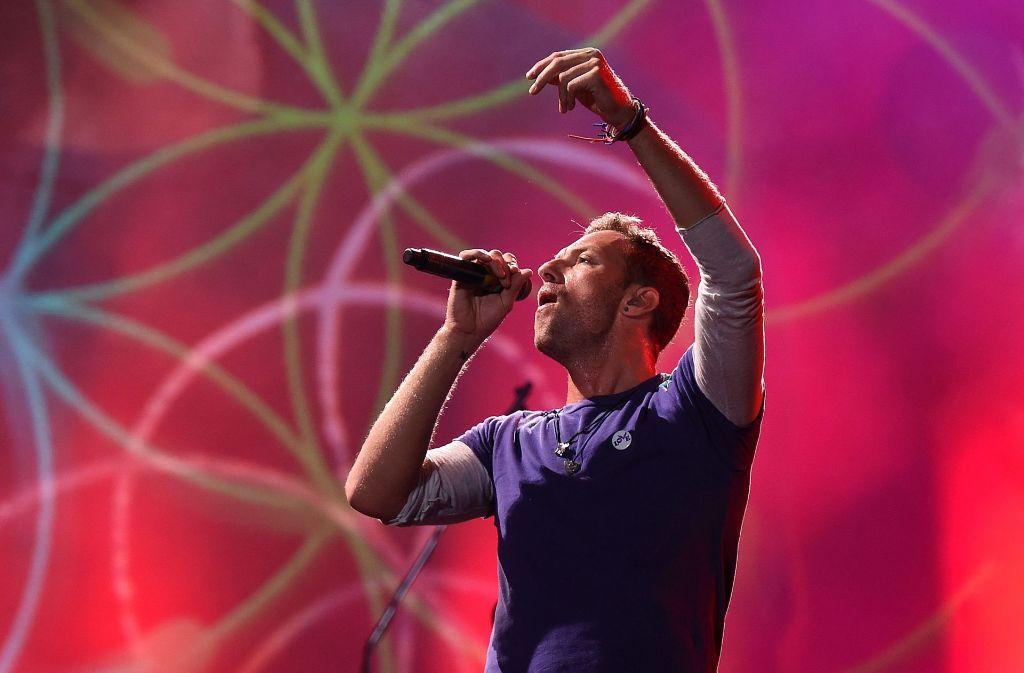 Chris Martin wird mit der Band Coldplay ebenfalls in Hamburg auftreten. Foto: