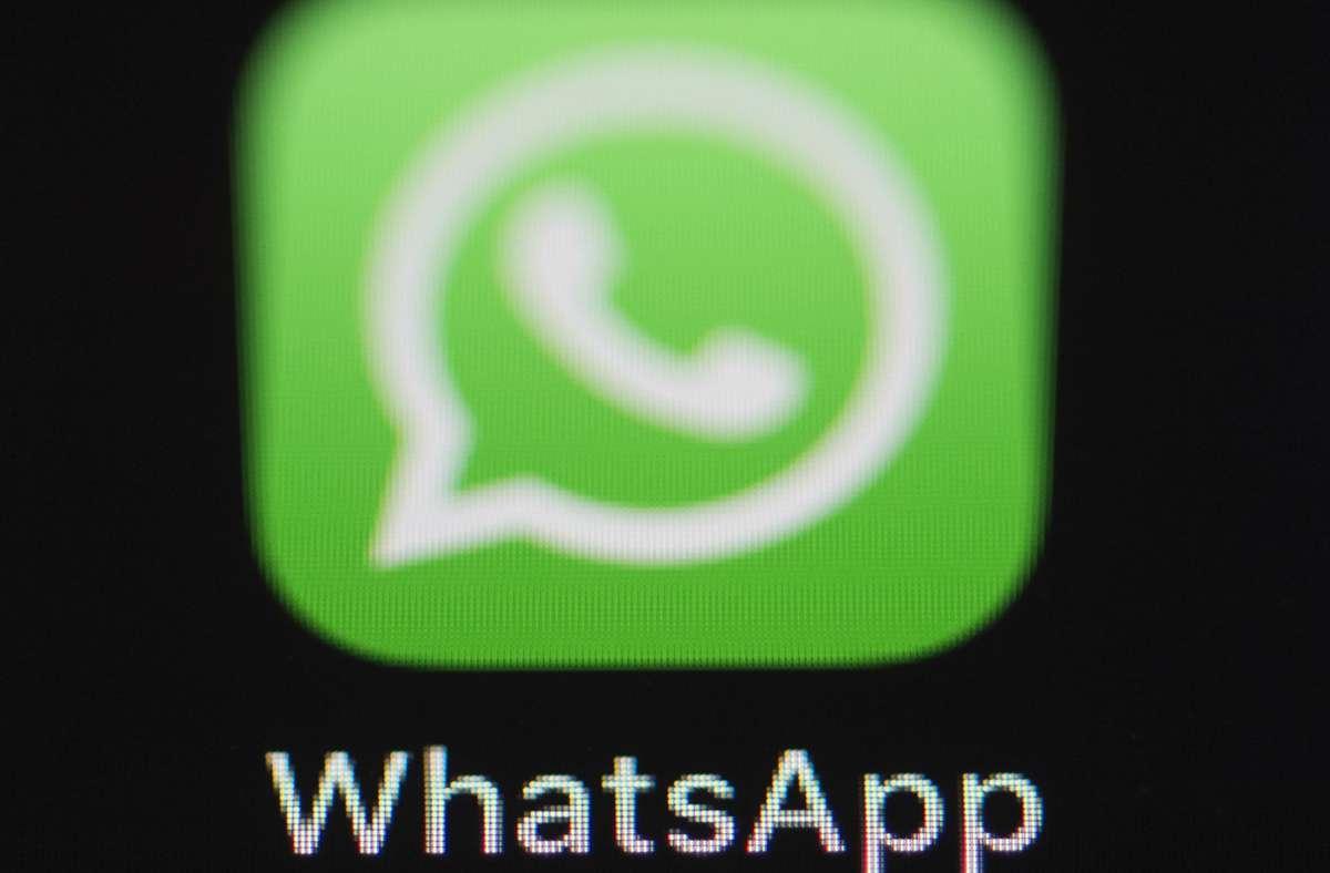 Laut Medienrecherchen liest das BKA bei manchen Ermittlungen bei WhatsApp mit. Foto: picture alliance/dpa/Silas Stein