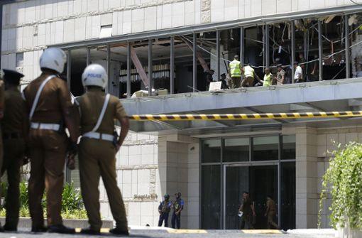 Explosionen in Kirchen und Hotels – Fast 200 Tote