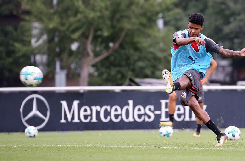 Ailton fällt beim VfB Stuttgart vorerst aus. Foto: Pressefoto Baumann