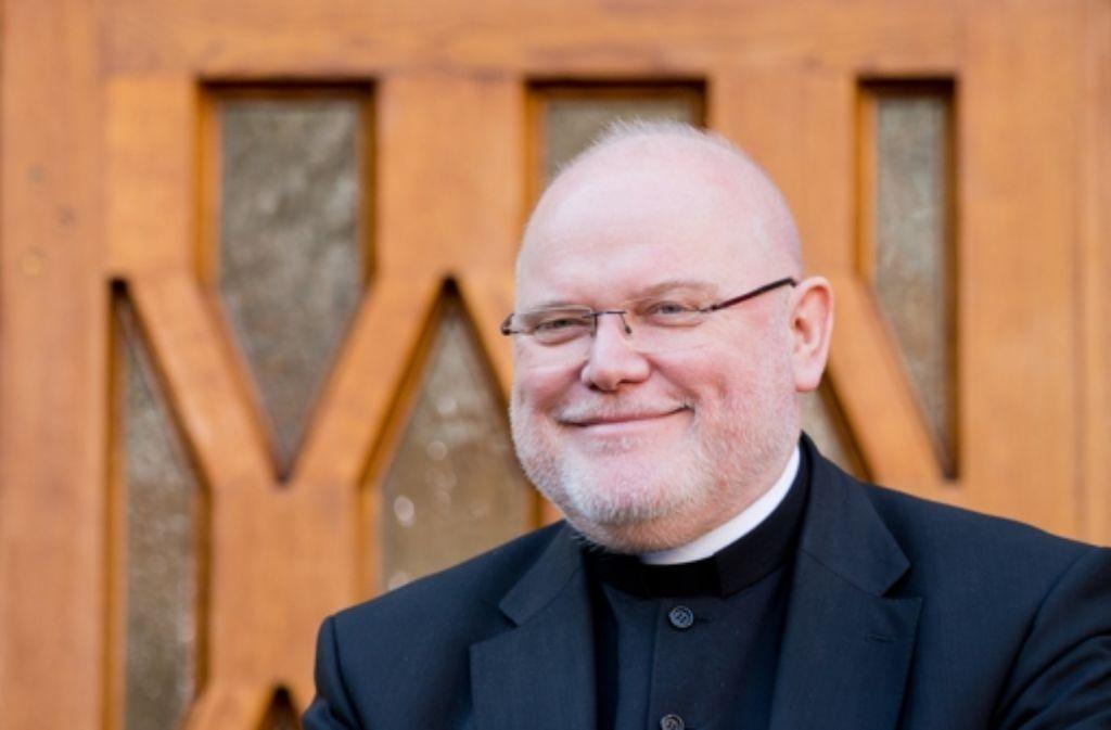 Der neu gewählte Vorsitzende der Deutschen Bischofskonferenz, Reinhard Kardinal Marx. Foto: dpa