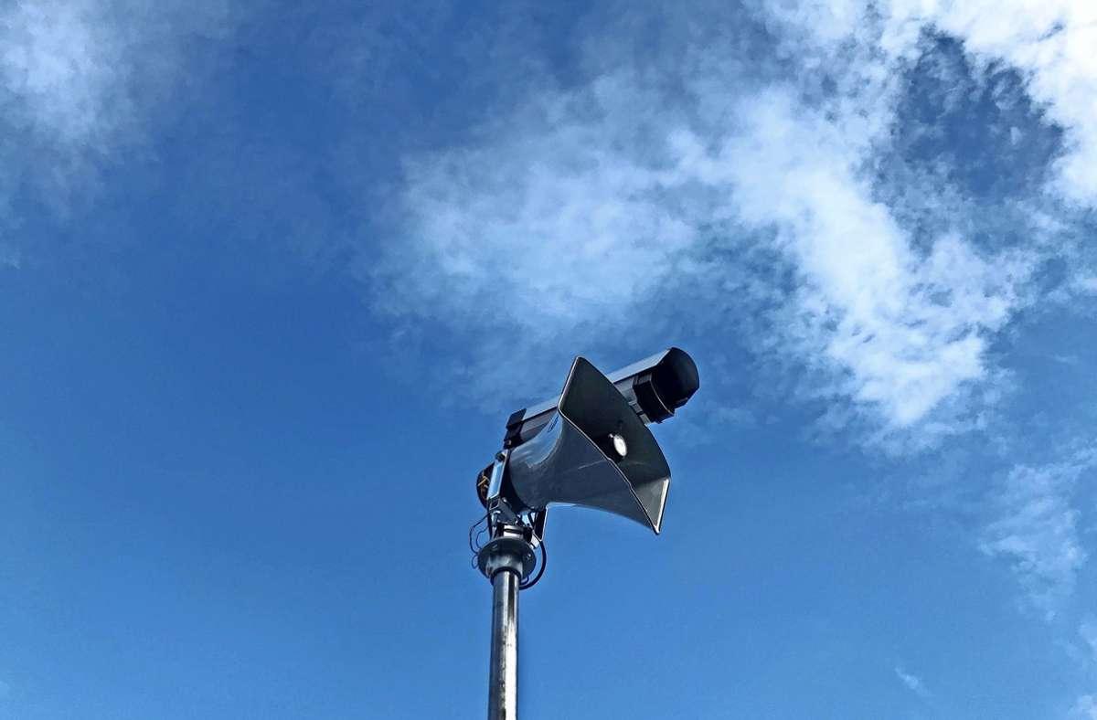 """Dries Depoorter wird in Kornwestheim  """"Surveillance Speaker"""" aufbauen. Foto: Dries Depoorter"""
