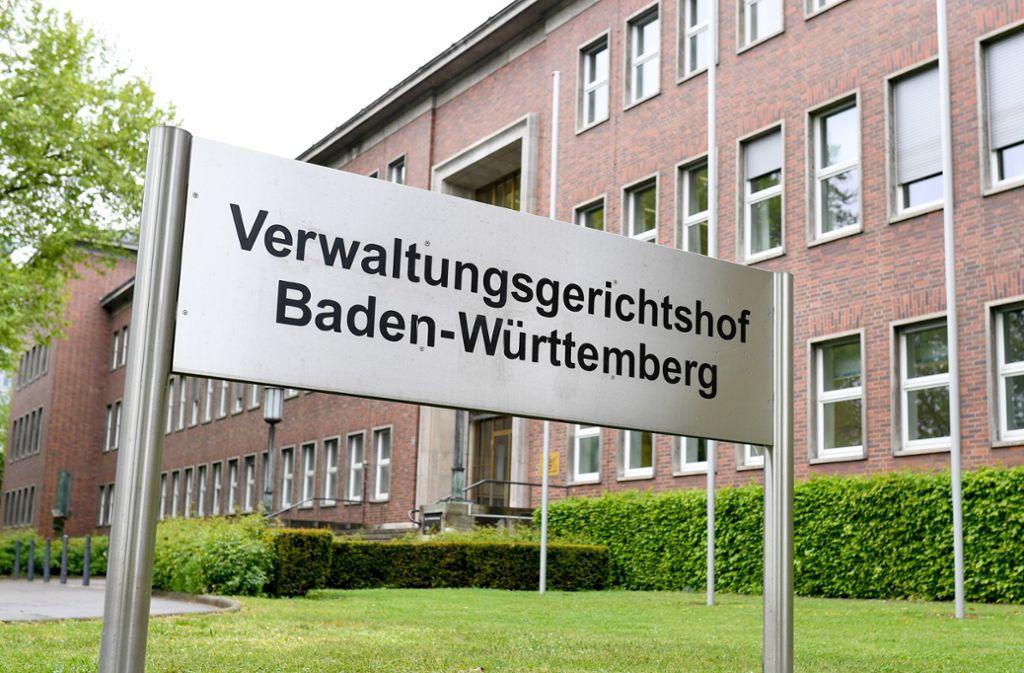 Die Zahl unerledigter Verfahren habe spürbar zugenommen, sagt der Präsident des Mannheimer Verwaltungsgerichtshofs, Volker Ellenberger. Foto: dpa