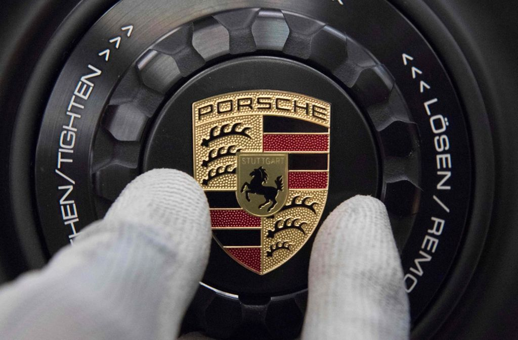 Porsche hat Probleme mit der Neuwagen-Sparte. Foto: AFP