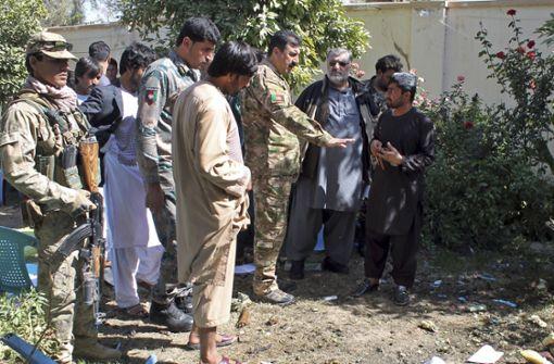 Zehnter Parlamentskandidat in Afghanistan getötet