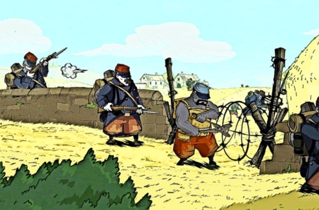 Im Computerspiel geht es darum, den Ersten Weltkrieg zu überleben.Foto:Ubisoft Foto: