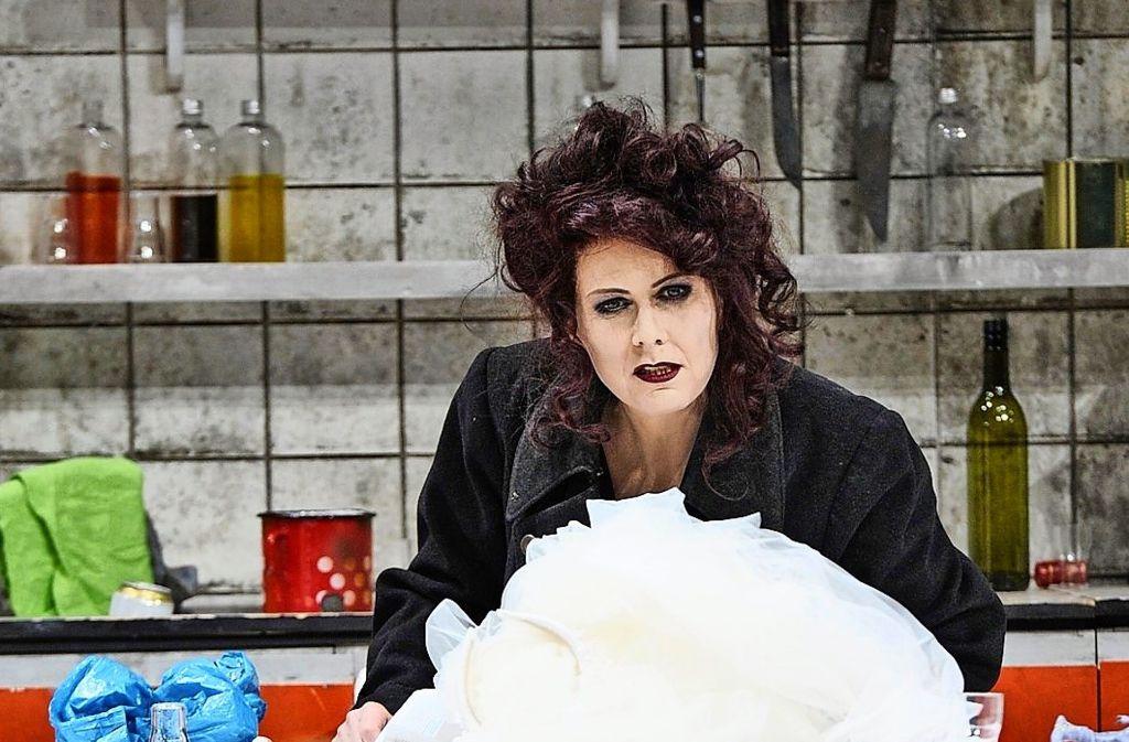 Cornelia Ptassek als Medea Foto: Thomas Aurin