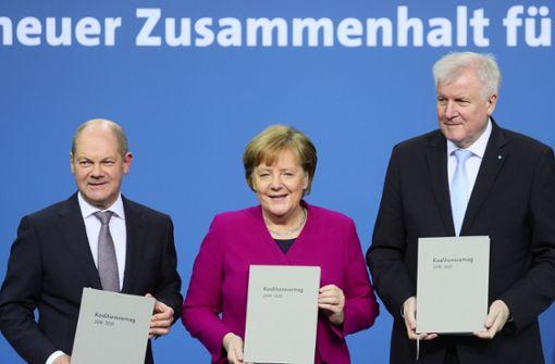 Union und SPD besiegeln Neuauflage der großen Koalition