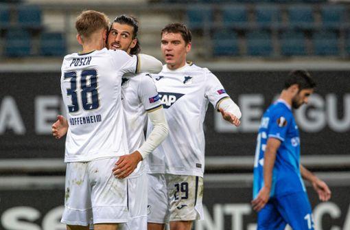 TSG Hoffenheim besiegt Gent mit 4:1