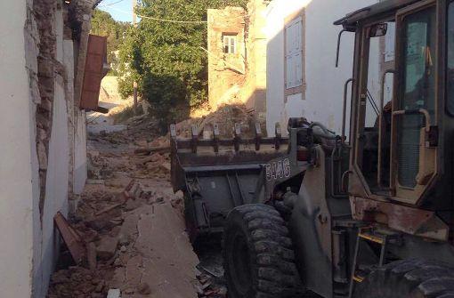 Seebeben in der Ägäis hat ein ganzes Dorf zerstört