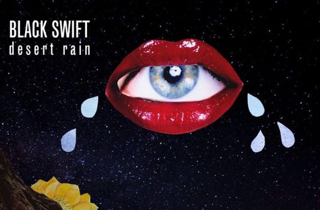 Ein Ausschnitt aus dem Cover der Black-Swift-EP Desert Rain Foto: Sally Grayson