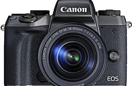 Systemkameras wie diese Canon können locker mit der Spiegelreflex-Konkurrenz mithalten. Foto: Hersteller