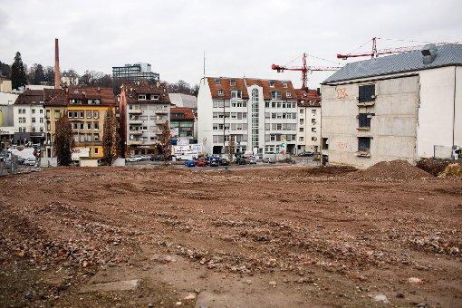 Baustellen in Stuttgart: An der Hauptstätter Straße