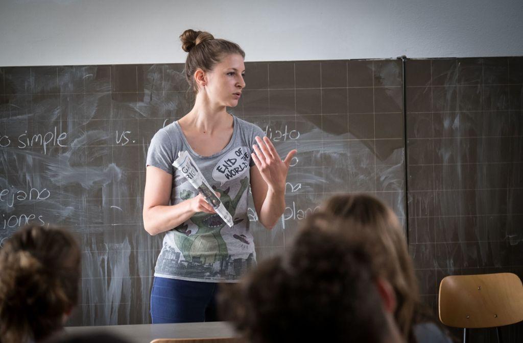 Medienprofis besuchen Schulklassen. Foto: Lichtgut/Achim Zweygarth/Lichtgut/Achim Zweygarth
