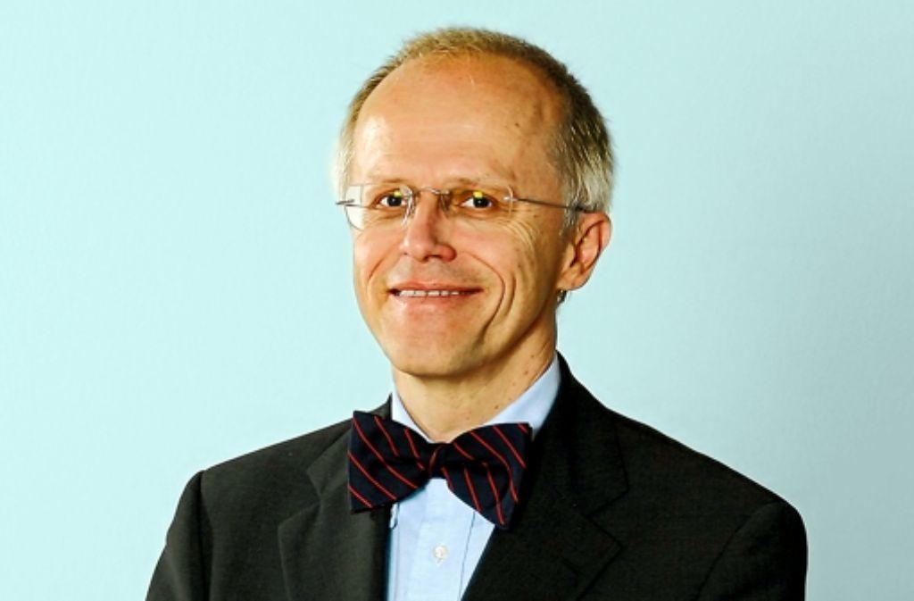 Hartmut Kliemt forscht über die Gerechtigkeit in der Medizin. Foto: Frankfurt School