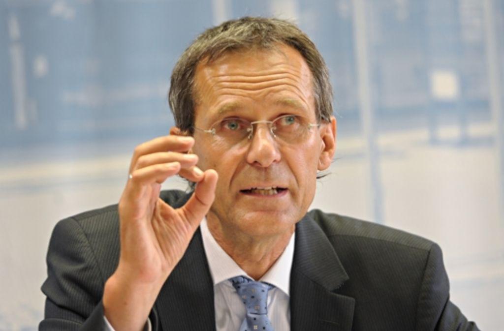 Wolf Hammann verlässt die Führung der Polizei. Foto: dpa