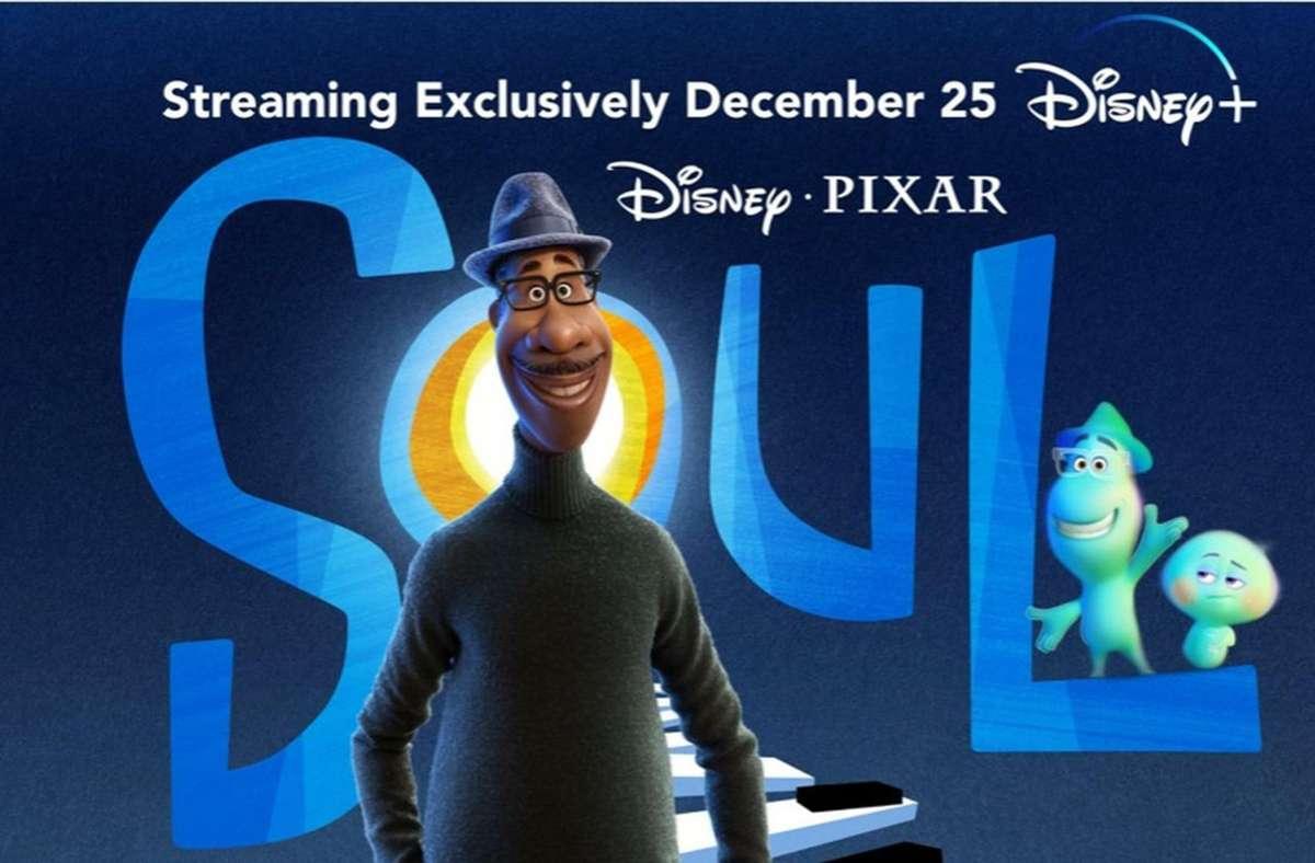 """Das Plakatmotiv von """"Soul"""" wird nun wahrscheinlich in keinem einzigen Kino zu sehen sein. Foto: Disney/Pixar"""