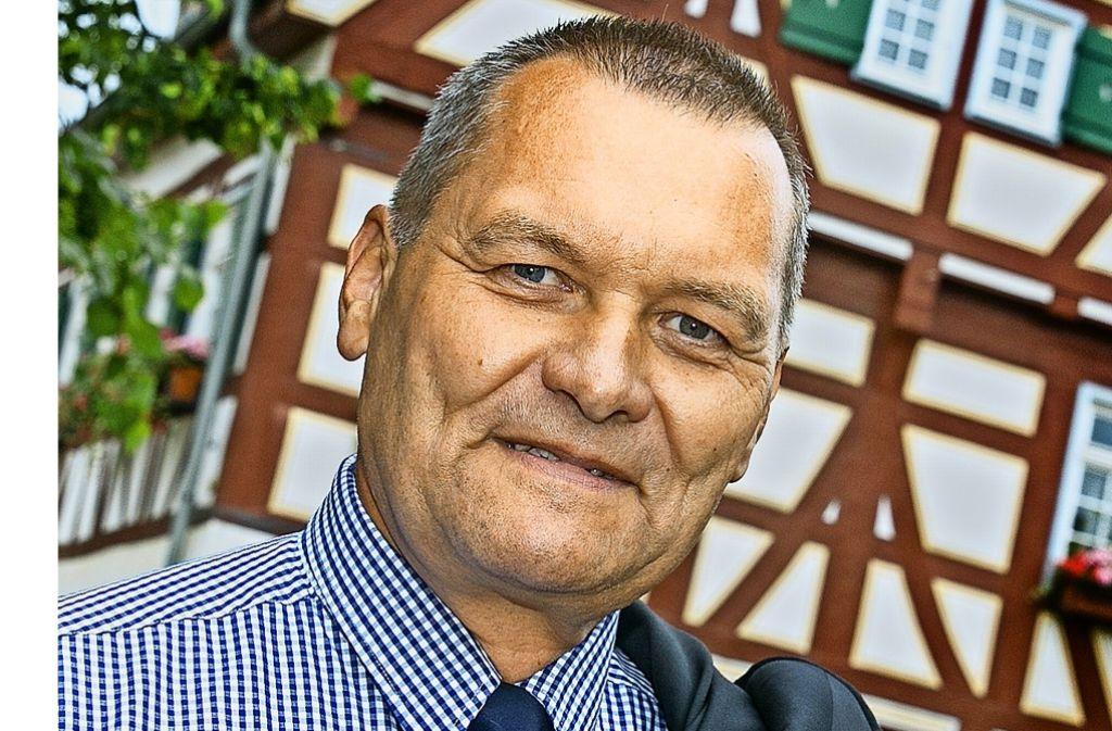 Friedrich Buchmaier war 30 Jahre lang in Dürnau Bürgermeister aus Leidenschaft, jetzt freut er sich auf neue Aufgaben. Foto: Horst Rudel