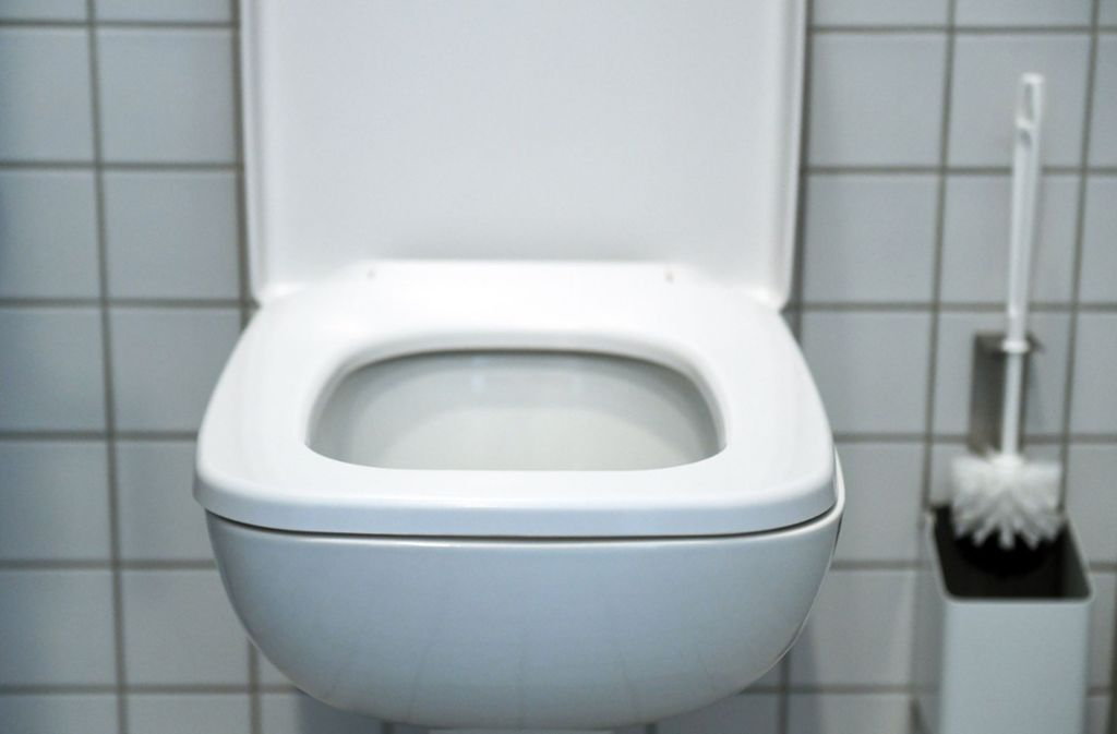 In Fellbach hat eine Putzkraft einen Mann in einer öffentlichen Toilette eingesperrt. Foto: dpa