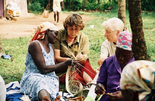 Leben in einem afrikanischen Dorf