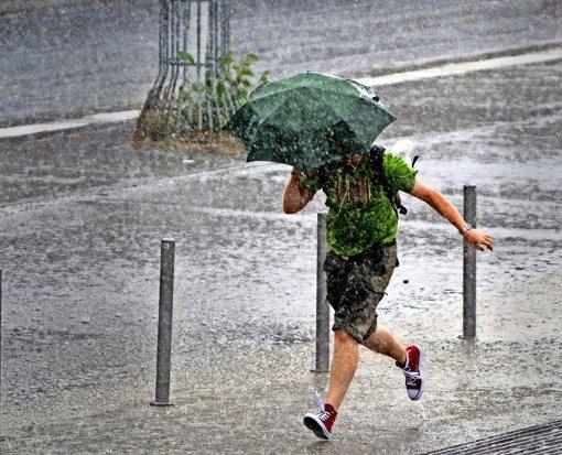 Der Regen wird zu anderen Zeiten kommen, so die Aussichten. Foto: dpa