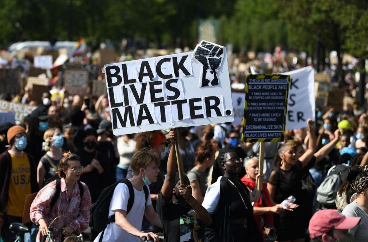 Der Tod Floyds hat landesweite Proteste gegen Polizeigewalt und Rassismus ausgelöst. Foto: AFP/DANIEL LEAL-OLIVAS