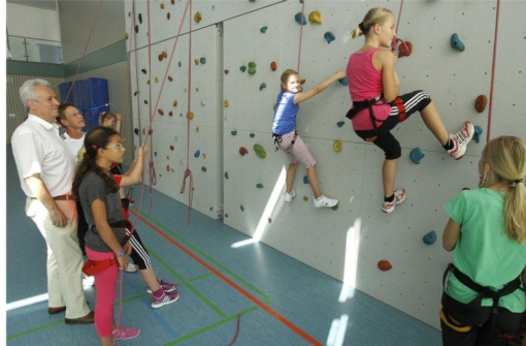 Eine Kletterhalle ist nur eine Attraktion des Ferienprogrammes. Foto: FACTUM-WEISE