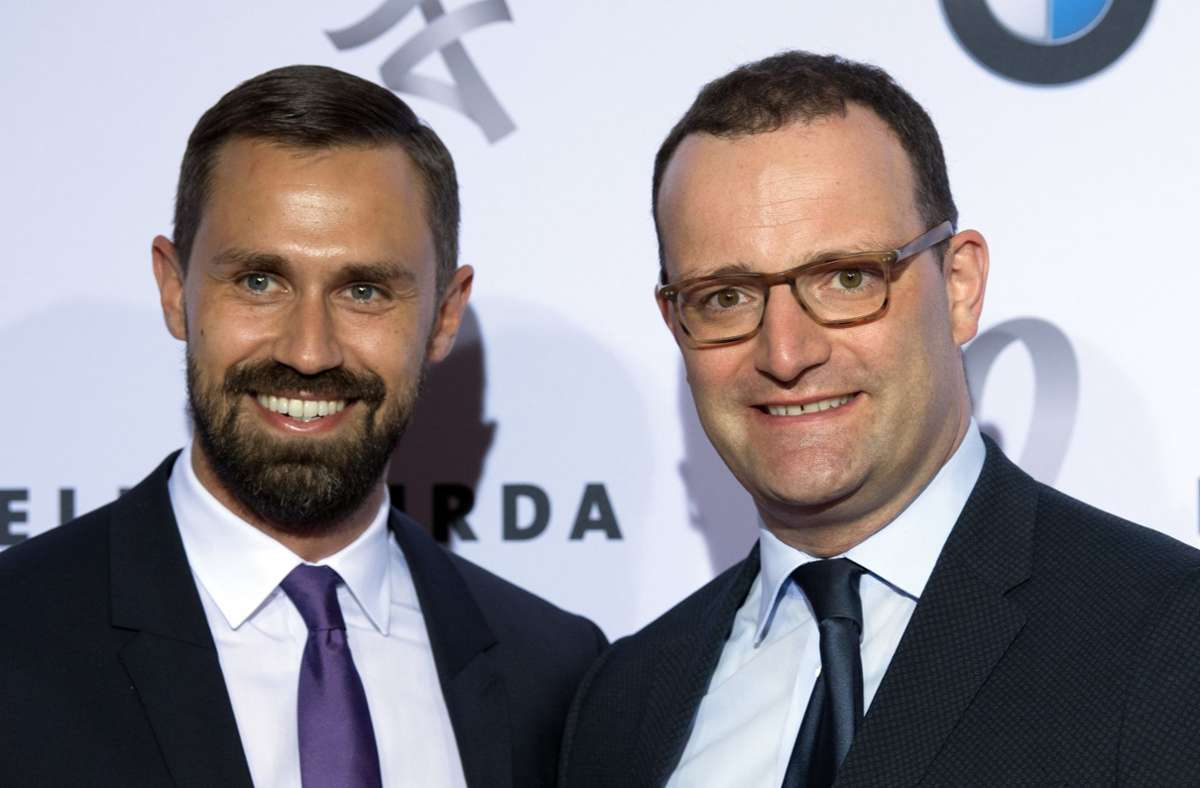 Jens Spahn ist mit dem Journalisten Daniel Funke verheiratet. Foto: dpa/Soeren Stache