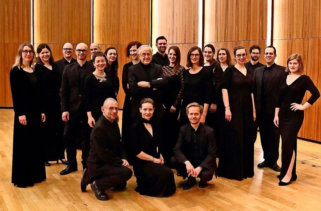 Der Württembergischen Kammerchor gibt sich am 25. November die Ehre.  Foto: Sabine Haymann