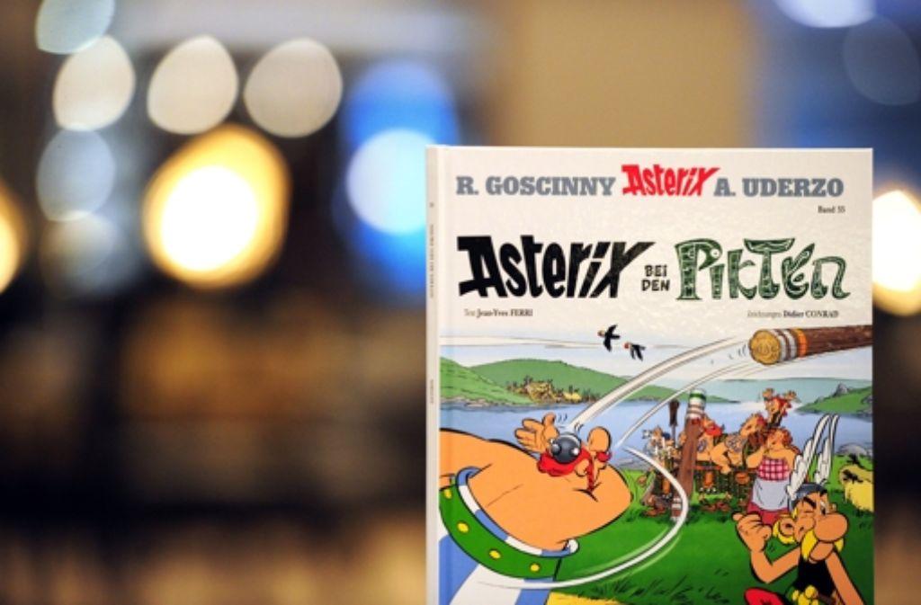 Asterix und Obelix reisen im neuen Band nach Schottland. Foto: dpa