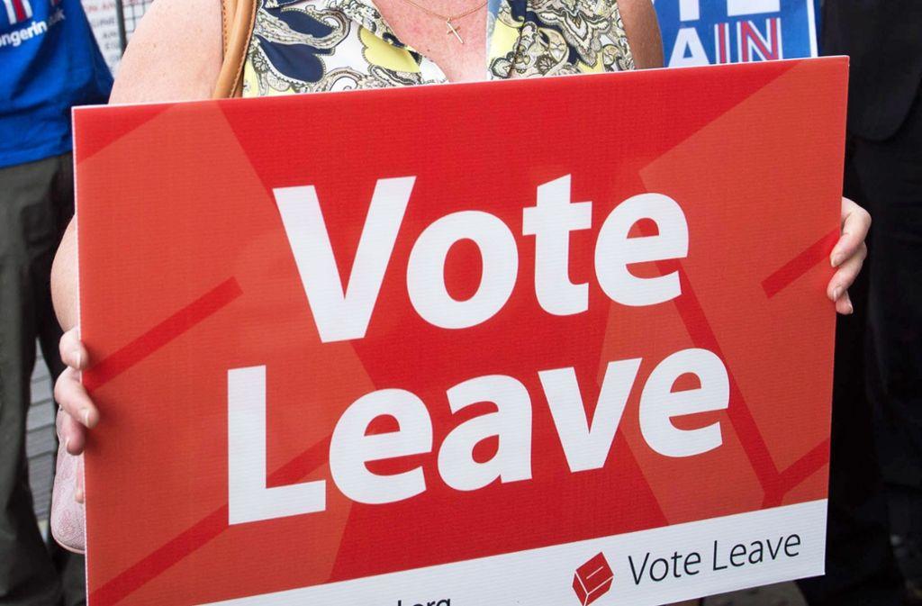 Viele haben es nicht für möglich gehalten – die Briten stimmten vor knapp zwei Jahren für den Brexit. Noch immer ist nicht geregelt, wie der Austritt geregelt werden soll. Foto: dpa