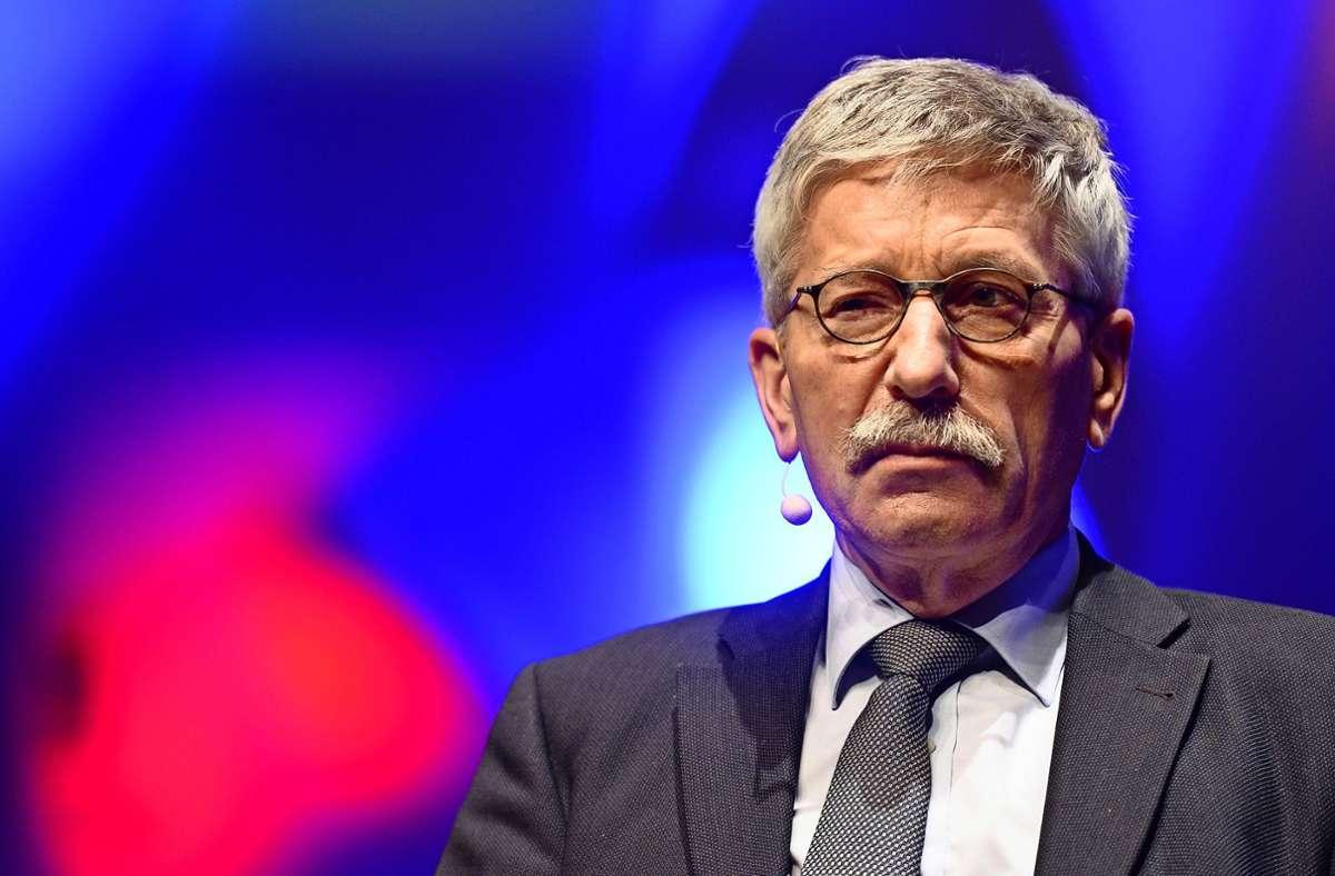 Wie geht es mit Thilo Sarrazin in der SPD weiter? Foto: dpa/Ralf Hirschberger
