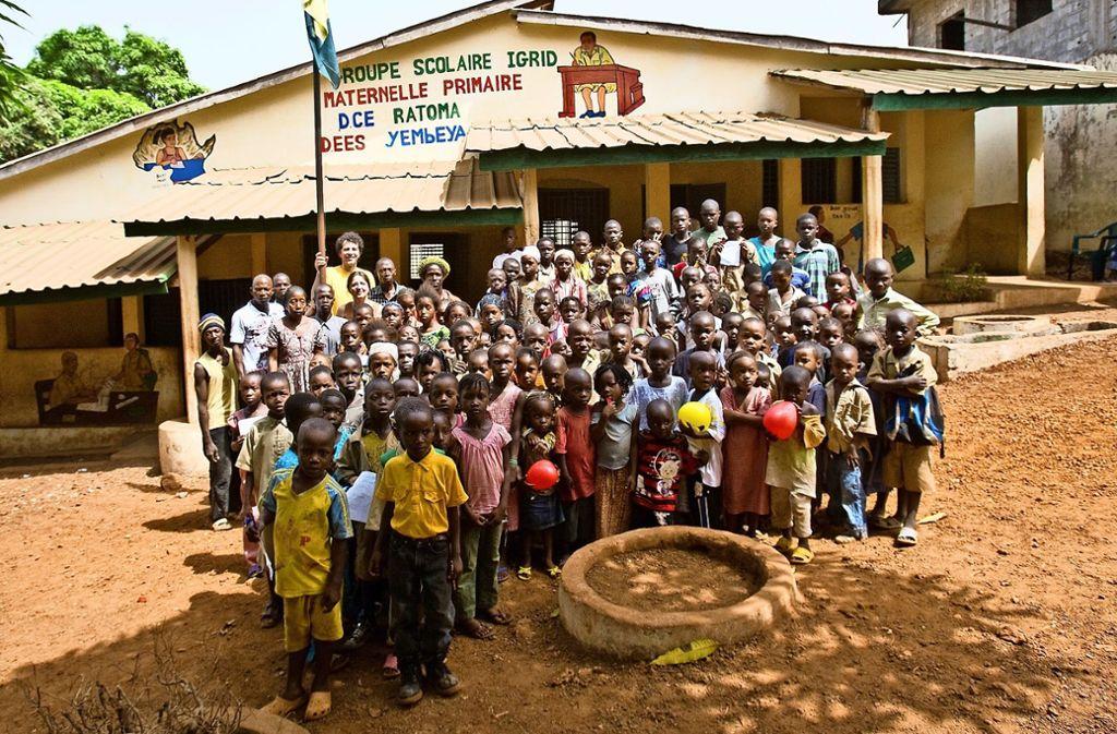 Die Pestalozzischule ist der Groupe Scolaire Igrid seit zehn Jahren eng verbunden. Foto: privat