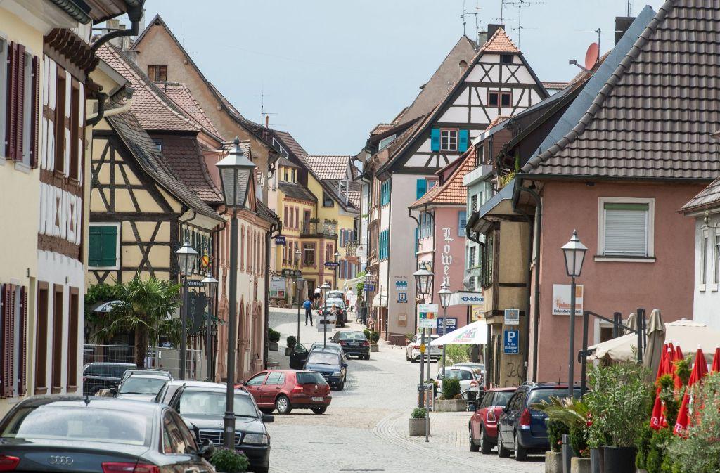 Die 9000-Einwohner-Stadt Endingen. Foto: dpa