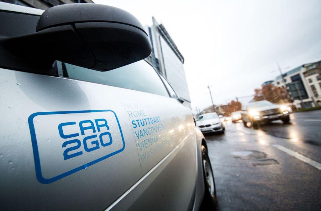 In Deutschland nutzen eine Million Menschen den Carsharing-Dienst. Foto: dpa