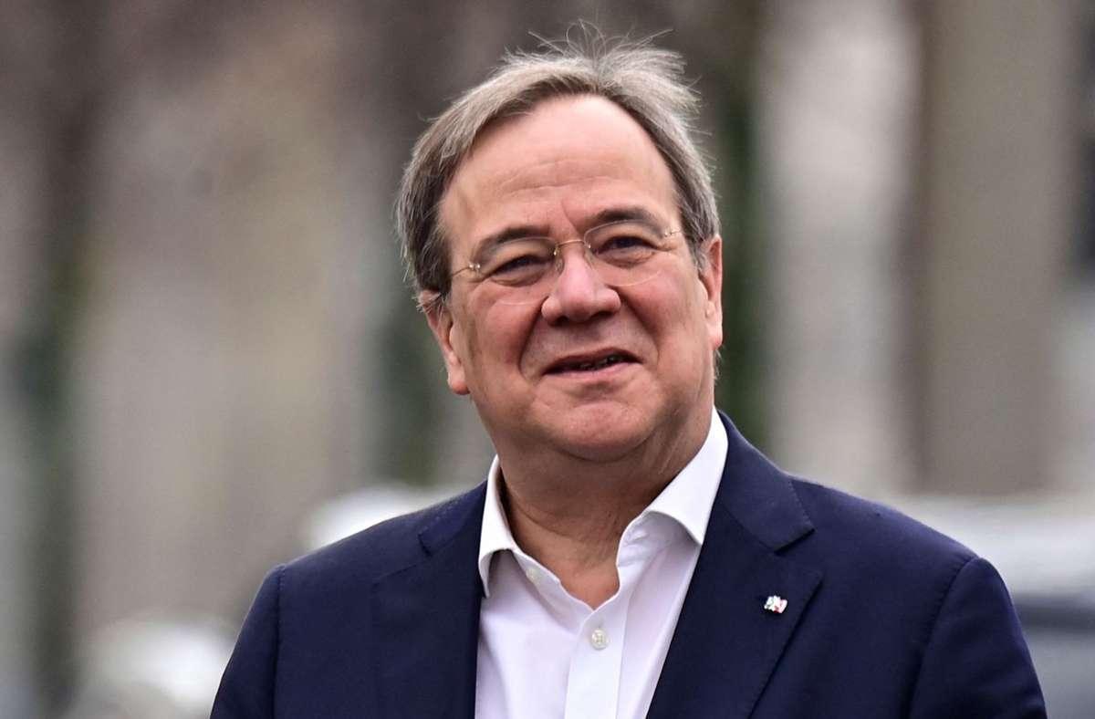 Der Weg für Armin Laschet (CDU) als Kandidat der Union für das Amt des Bundeskanzlers ist nun frei. (Archivbild) Foto: AFP/TOBIAS SCHWARZ