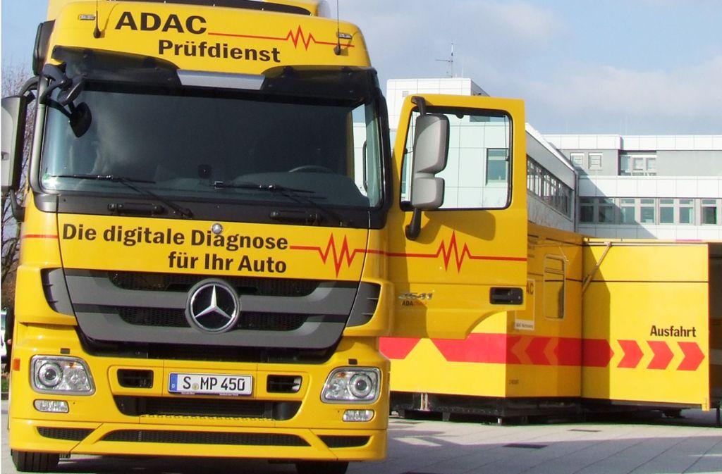 Der ADAC Prüfzug kommt nach Welzheim. Foto: ADAC Württemberg
