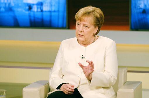 Merkel sucht die Machtprobe