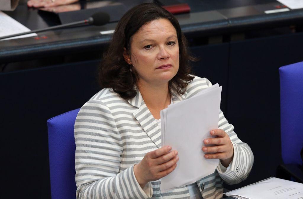 Arbeitsministerin Andrea Nahles (SPD) will im Herbst den Reformplan zur Rente vorlegen. Foto: dpa