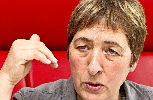 Doro Moritz, die GEW-Vorsitzende gibt keine Wahlempfehlung. Foto: dpa