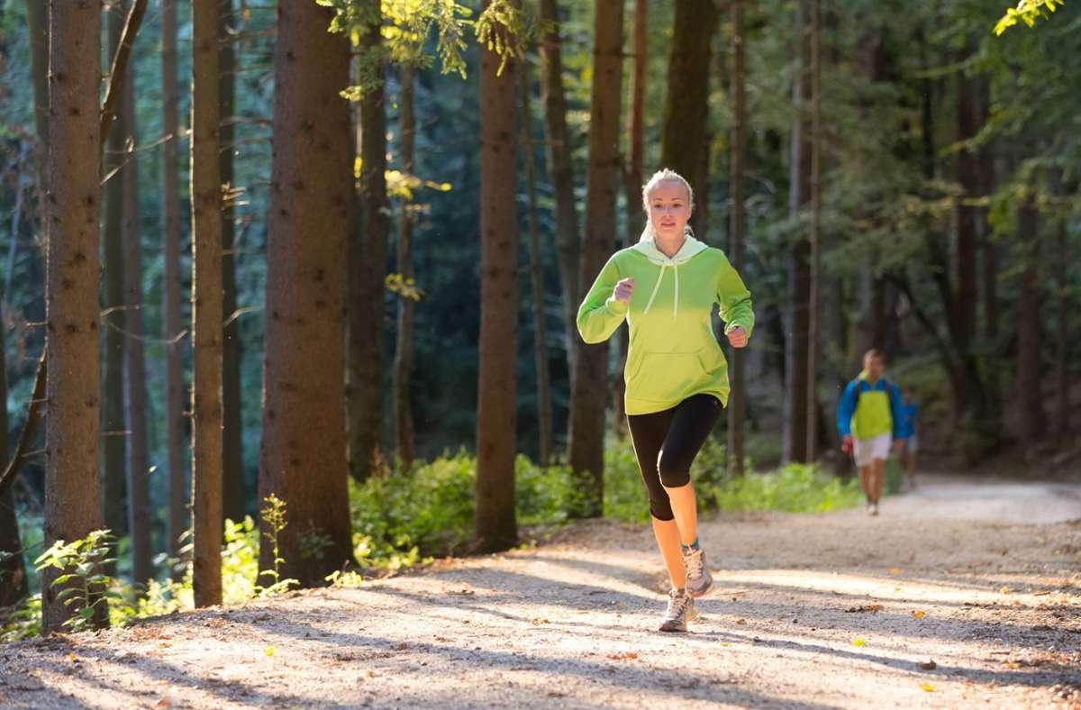 Wer am virtuellen Stuttgart-Lauf teilnimmt, wählt seine Strecke selbst.  (Symbolfoto) Foto: imago images/YAY Images